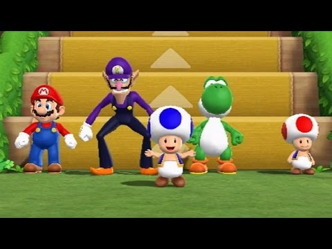 Mario Party 9 - Step It Up (Free-for-All Minigames)