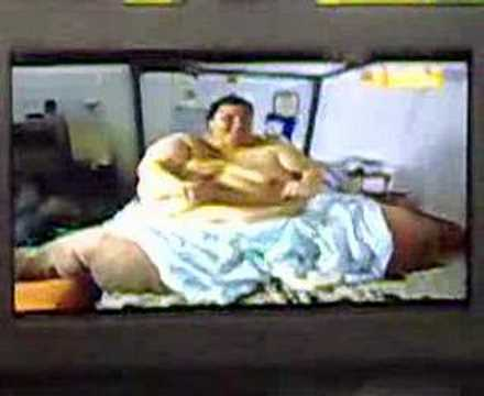 heaviest man alive. worlds fattest man exercise