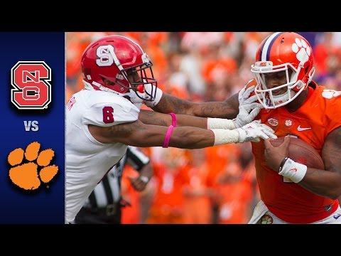 NC State vs. Clemson Football Highlights (2016) (видео)