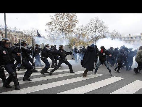 Μαζικές διαδηλώσεις σε όλο τον κόσμο για το κλίμα- Ένταση στο Παρίσι