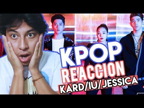 Notícias dos famosos - Reacciones de KPOP #2 // K.A.R.D , IU ft GDragn, Jessica // Shiro No Yume