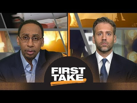 Stephen A. and Max preview Celtics vs. Cavaliers Game 3 | First Take | ESPN (видео)