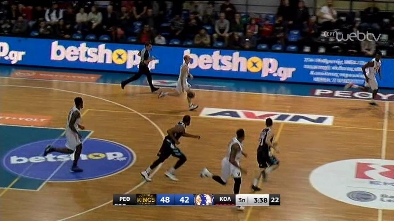 Basket League 2019-2020: REΘΥΜΝΟ – ΚΟΛΟΣΣΟΣ   HIGHLIGHTS   28/12/2019   ΕΡΤ