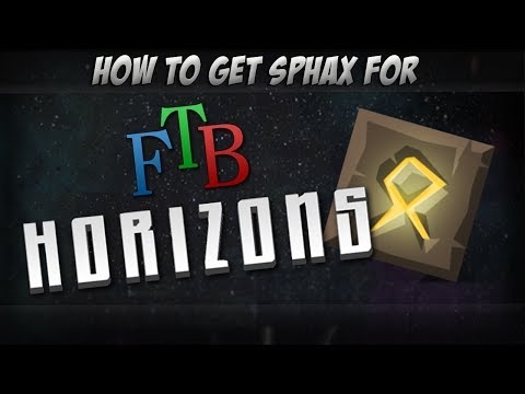 How To Get The Sphax Texture Pack For FTB Horizons  [Minecraft 1.6.4]