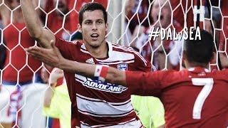 GOAL: Matt Hedges leaping header | FC Dallas vs Seattle Sounders