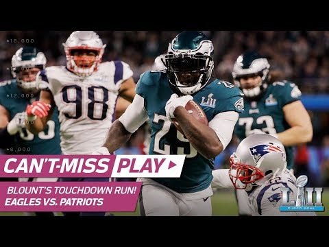 Video: Jeffery's Sideline Snag Sets Up Blount's Big TD to Extend Lead! | Can't-Miss Play | Super Bowl LII