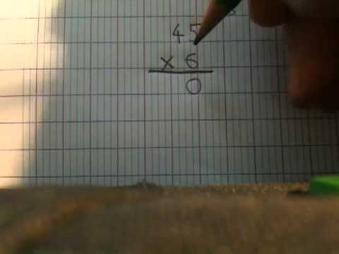 comment poser multiplication