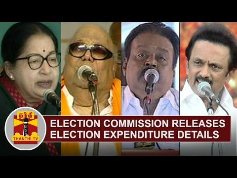 Election-releases-Election-Expenditure-Details-of-Candidates-Thanthi-TV
