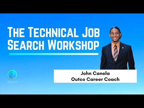 11/5/2020 Technical Job Search Workshop