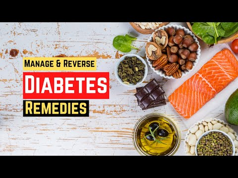 How To Manage And Reverse Diabetes Naturally – Nutritional Remedies