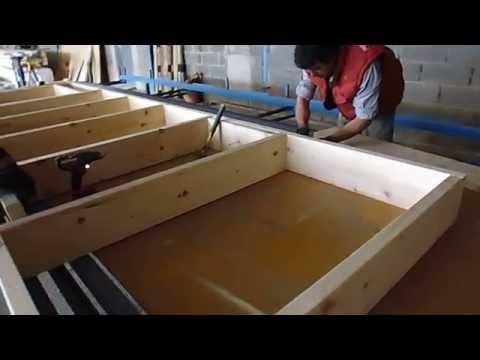 comment poser ossature bois
