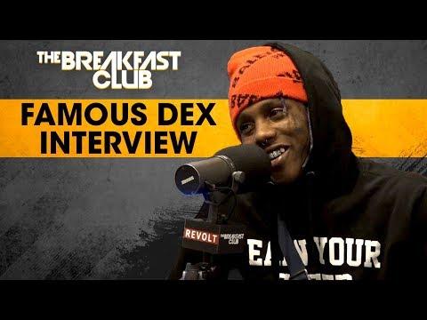 Famous Dex Addresses Domestic Abuse, Talks Stage Antics, Rich The Kid & Lil Uzi Beef + More