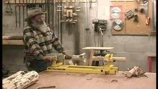 Showing Barker Tenon Cutters and Barker Clamp and Carriage