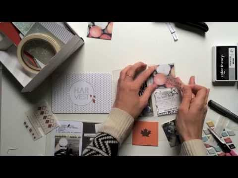 Spread - In this video we show you step-by-step how to put together an autumn spread to add to your project life album using the October Project Life kit from Studio Calico! The video also includes...