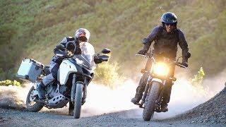 3. Rags to Riches! Suzuki VanVan 200 vs. Ducati Multistrada 1200 Enduro - On Two Wheels