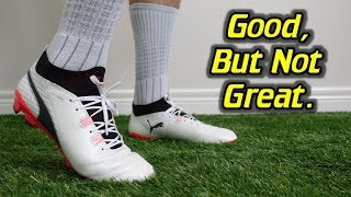 Puma One 17.1 Review + Discount Coupon Codeshttp://soccerreviewsforyou.com/2017/07/puma-one-17-1-review/SR4U Review Website - http://soccerreviewsforyou.com/SR4U Replacement Laces - http://www.sr4ulaces.com/Daily Deals Email Signup Form ---  http://eepurl.com/Jv3ivFollow me on Facebook http://on.fb.me/RrchwtFollow me on Twitter http://bit.ly/Si812xFollow me on Instagram http://instagram.com/sr4u_josh/Follow me on Tumblr http://bit.ly/VEc3xaSoccer/Football Boot Super Deals http://soccerreviewsforyou.com/super-deals/New Release Soccer/Football Boots http://soccerreviewsforyou.com/new-cleat-releases-2/