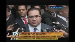 Revelan plan de escape de Javier Duarte