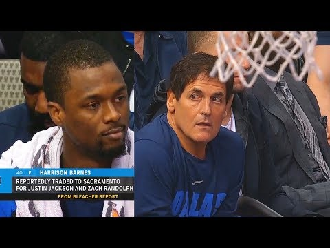 Harrison Barnes Gets Humiliated By Mavs After Being Traded To Kings During The Game! Mavs vs Hornets