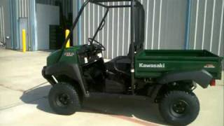 1. 2011 Kawasaki Mule 4010 4X4: Overview and Review