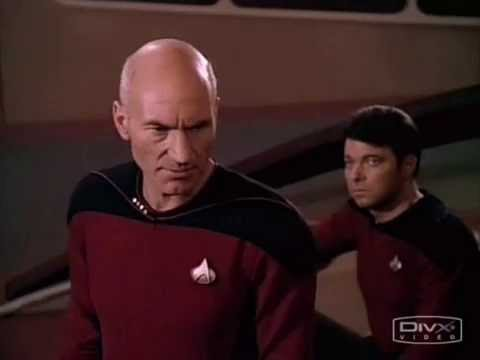 wesley - Picard tells Wesley Crusher to shut up!!