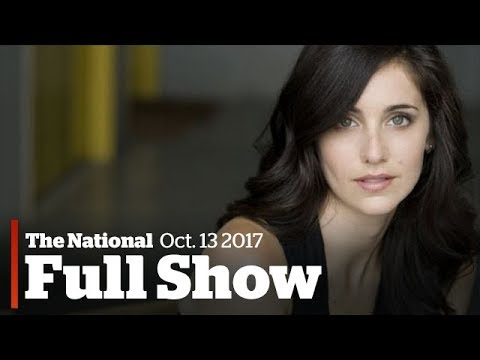 The National for Friday October 13th: Weinstein's Canadian accuser, Iran deal, Boyle family's return (видео)