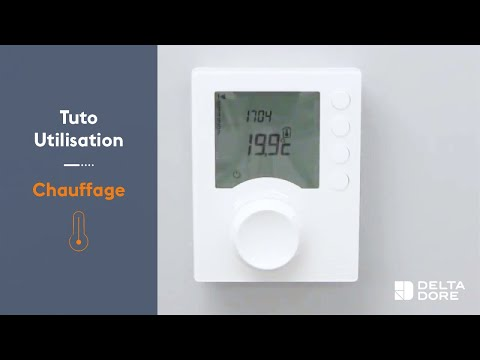 comment regler thermostat tybox