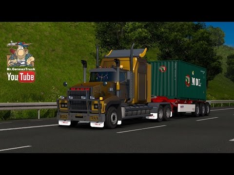 Mack Titan v8 for 1.25 1.24 FIXED