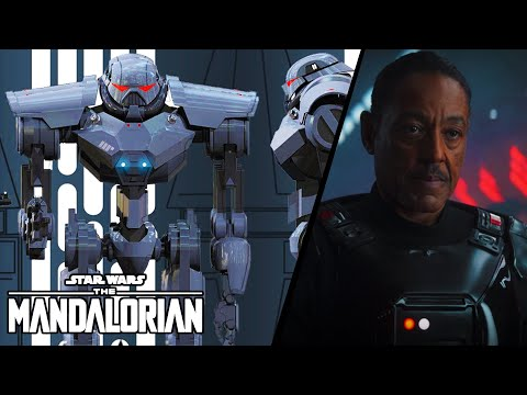 Imperial DARK TROOPERS FULLY EXPLAINED - Moff Gideon's Army Mandalorian Season 2 Episode 4