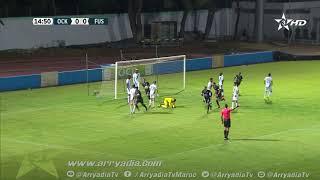 أولمبيك خريبكة 0-1 الفتح الرياضي هدف محمد باداموسي في الدقيقة 15.