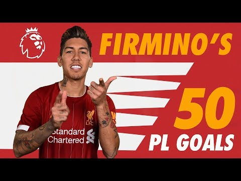 Firmino39s 50 Premier League goals  Screamers, solo strikes and no-look finishes