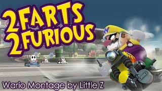 """2 Farts 2 Furious – SSB4 Wario Montage"" by Little Z"