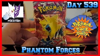 Pokemon Pack Daily Phantom Forces Booster Opening Day 539 - Featuring Deceptive Pokemon by ThePokeCapital