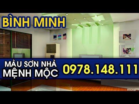 Phối Màu Sơn Nhà Đẹp Hợp Người Mệnh Mộc 2019 -0978.148.111