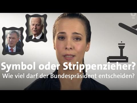 Bundespräsident - Was entscheidet er in Deutschland?