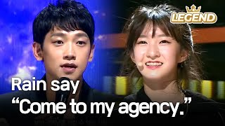 "Video Youngest contestant's charisma makes Rain say, ""Come to my agency."" [The Unit/2017.12.07] MP3, 3GP, MP4, WEBM, AVI, FLV September 2018"