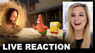 The SpongeBob Movie Sponge on the Run Trailer REACTION by Beyond The Trailer