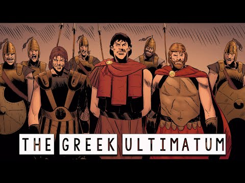 The Greek Ultimatum to Troy and the Terrible Prophecy - The Trojan War Saga Ep.8 - See U in History