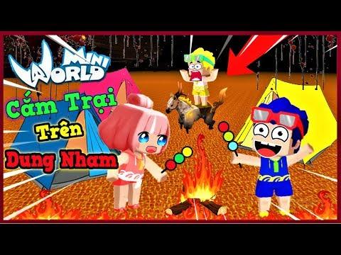 Mini World: Thử thách 24 giờ cắm trại trên lửa dung nham cùng bộ 3 bá đạo và cái kết   Phong Cận Tv - Thời lượng: 13 phút.