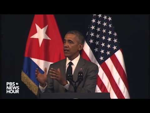 Watch President Obama s full speech to Cubans from