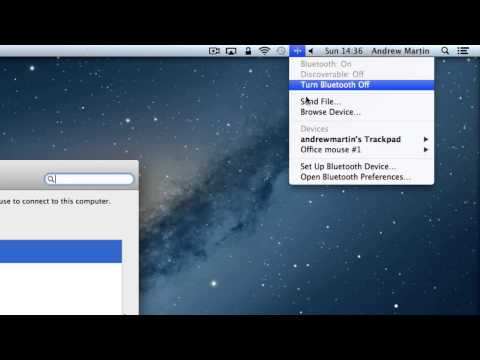 How to connect a Bluetooth mouse to your Mac | Mountain Lion tutorials | The Human Manual