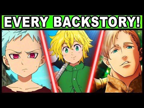 Every Sin's Backstory Explained! (Seven Deadly Sins / Nanatsu no Taizai)