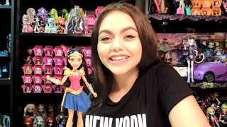 DC Super Hero Girls Wonder Woman of Themyscira Doll Review  WookieWarrior23We are a family of toy collectors! Our videos include toy reviews, costumes, cosplay, tutorials, challenges, blind bags, vlogs, toy hunts, and stop motion videos. Drusila and Nessy love all things Monster High, plus Vamplets, Zelfs, Disney, Play Doh, and Funko. Daddy loves anything Lego, and he does a regular Daddy's Toy Hunt series. We're fun and goofy and a little bit crazy, and we like to give truthful opinions of the toys we review. We love sharing our videos with viewers around the world! Monster High Boo York Boo York Reviews Playlisthttp://youtu.be/HlvjVYoQhqIChallenges Playlist:https://www.youtube.com/playlist?list=PL3waLuL3Pk2-gULcDcrmeN6NttkR8uRJ5Toy Hunting Videos Playlisthttps://www.youtube.com/playlist?list=PL3waLuL3Pk29xpmZsloUgB81q88B1pTnUDrusila Talks About Vlogshttps://www.youtube.com/playlist?list=PL3waLuL3Pk2-zLjg_AflX4vKoX5QmGlkGBlind Bags Fever Videoshttps://www.youtube.com/playlist?list=PL3waLuL3Pk29gdX71OkFPzInCTjv44bKGMonster High Halloween Costumes and Cosplayhttps://www.youtube.com/playlist?list=PL3waLuL3Pk2_2WP4hKQ8_dpXaZVlSN4U9Monster High SDCC Exclusive Dolls Reviewshttps://www.youtube.com/playlist?list=PL3waLuL3Pk28sle3rpHRgsT8uGCe7aSr1Custom Dolls Videos https://www.youtube.com/playlist?list=PL3waLuL3Pk2-40nNY81VeFoKONmMA0g27Follow us :http://instagram.com/wookiewarrior23ythttps://www.flickr.com/photos/wookiewarrior23https://plus.google.com/+WookieWarrior23