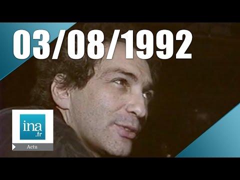 19/20 FR3 du 3 août 1992 - Mort de Michel Berger   Archive INA