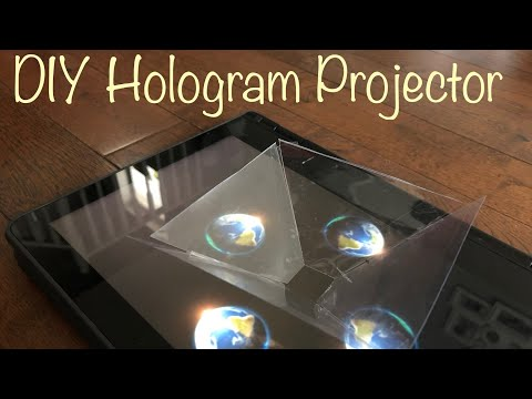DIY 3D HOLOGRAM PROJECTOR for smart phone|How to|tutorial|best out of waste|ஸ்மார்ட் போன்|CRAFTING