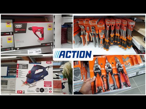 ARRIVAGE ACTION - OUTILS BRICOLAGE - 17 OCTOBRE 2020
