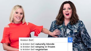 Melissa McCarthy & Kristen Bell Answer The Web's Most Searched Questions | WIRED
