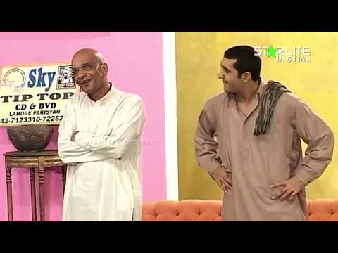 Best Of Zafri Khan and Abida Baig New Pakistani Stage Drama Full Comedy Clip   Pk Mast