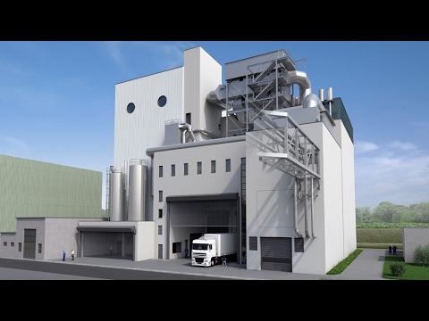 Basels zweites Holzkraftwerk