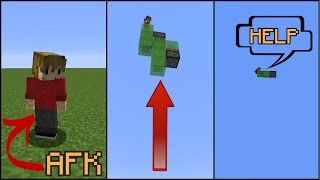 How To Mess With AFK People In Minecraft! Traps, tricks and tips for messing or trapping your friends in minecraft! AFK = Away ...
