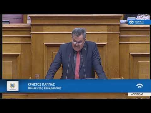Χ.Παππάς (Εισηγητής ΧΡΥΣΗ ΑΥΓΗ) (Αναθεώρηση Συντάγματος) (12/02/2019)